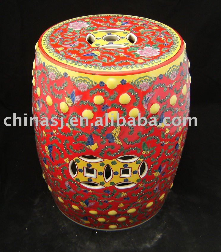 antique chinese ceramic Garden Stool WRYAZ13