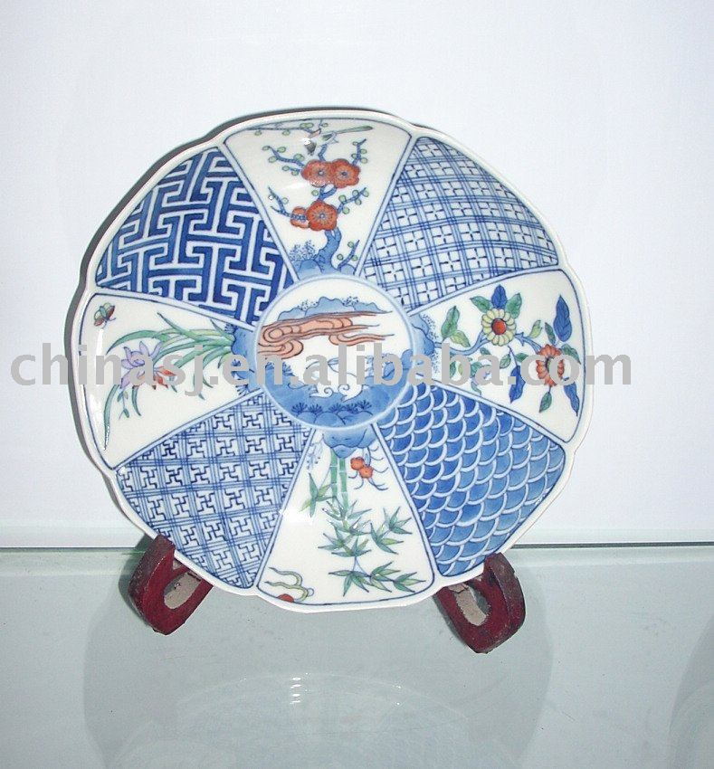 ceramic decorative plate WRYAS43