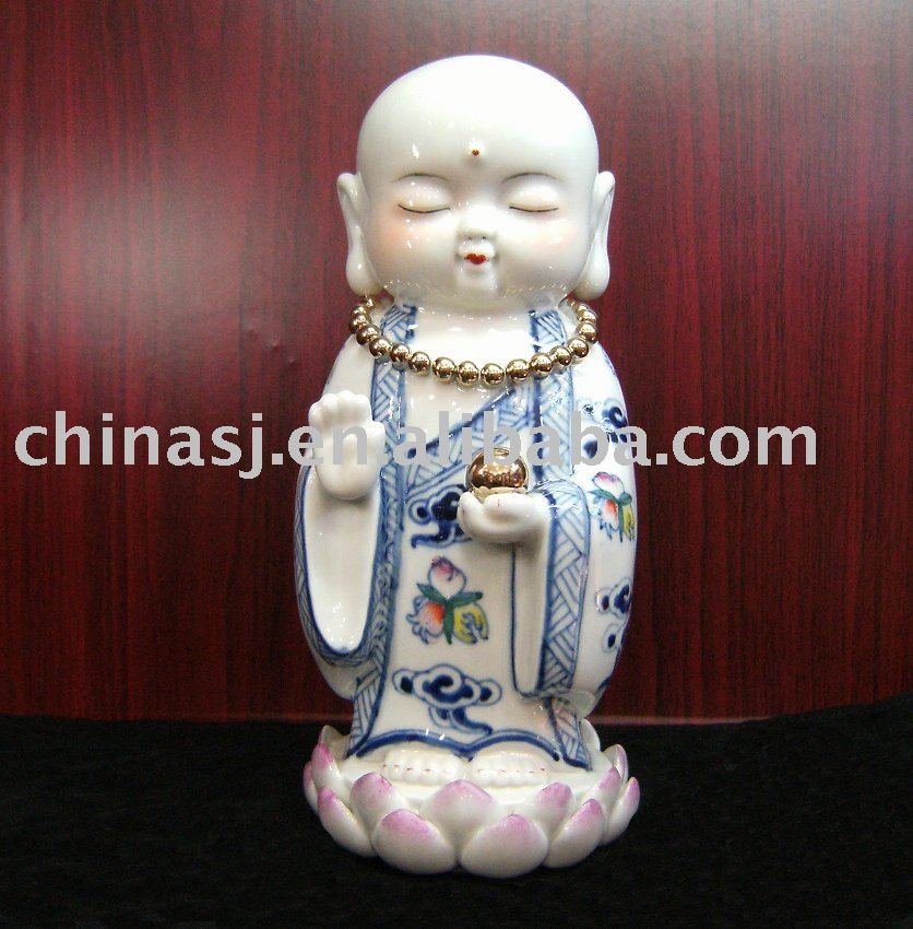 small ceramic figurine WRYEQ16